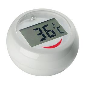 Termomêtro Digital Redondo Agua Para Banheira Bebês Alarme.