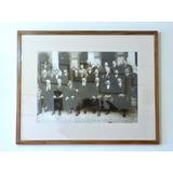 Fotografía Antigua De Venustiano Carranza Y Su Gabinete 1917