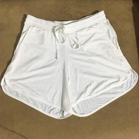 83e46d39cb Piscina Short Praia - Shorts para Feminino Branco no Mercado Livre ...