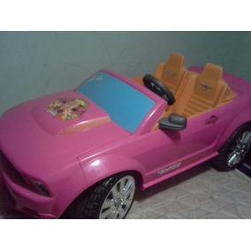 Carro Barbie Ford Mustang Para Niña 100% Funcional Todo!!