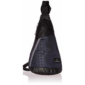 Mochila Azul/negro De Una Sola Correa Victorinox 601438