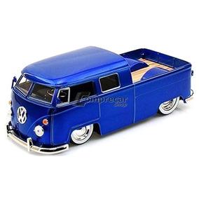 Miniatura Volkswagen Kombi Pickup 1963 Azul Toys 1/24