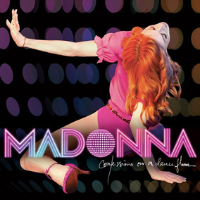 Madonna Confessions On A Dancefloor Vinilo Doble 2 Lp Rosa