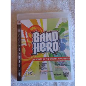 Band Hero Ps3 * Frete Grátis