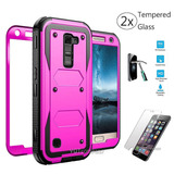 Purple - For Lg Phoenix 2 - Para Lg K8 /phoenix 2 K371 -6165