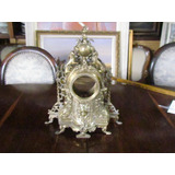 Lindo Relógio Antigo De Bronze Garniture Sem Relógio
