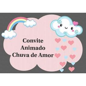 Tema Chuva De Amor Convites No Mercado Livre Brasil