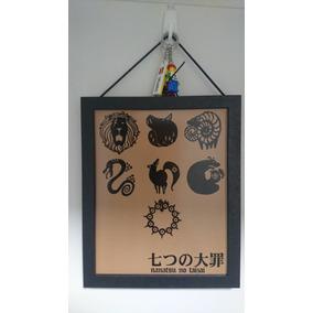 Poster Com Moldura Seven Deadly Sins (nanatsu No Taizai)