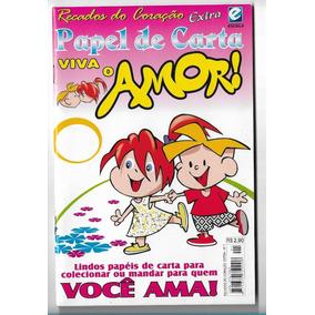 Viva O Amor Recados Do Coração Revista N Extra 1 Papel De Ca