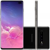 Celular Samsung Galaxy S10 Plus Preto 512gb Dual Chip Te