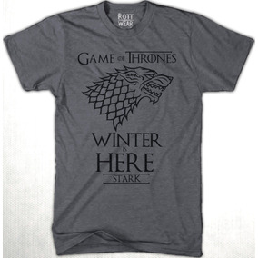Game Of Thrones Stark Winter Is Here Playera H Rott Wear