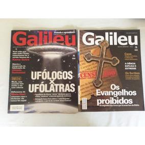 Revista Galileu - Lote Com 17 Unidades Em Perfeito Estado