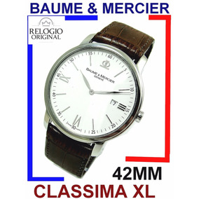 Moderno Baume & Mercier Classima Xl 42mm Ref 65493!