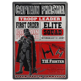 Poster Placa Decorativa Captain Phasma Star Wars