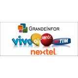 Recarga Celular Crédito Online Vivo Claro Oi Tim $20,00