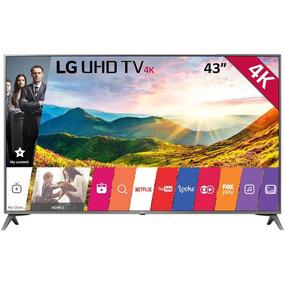 Smart Tv 43 Lg Ultra Hd 4k 43uj6565 Hdr Ativo Wi-fi Webos