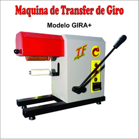 Maquina Transfer Rotativa - Transfer Gira Mais