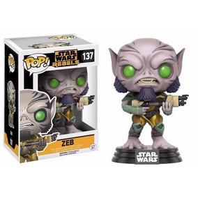 Funko Pop Star Wars Rebels - Zeb