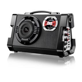 Caixa De Som Multiuso Multilaser Sp191 Com Microfone