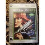 Xbox 360 Perfect Dark Zero Platinum Hits