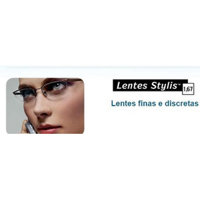 Lentes Stylis Crizal Original, Apenas R  290,00 O Par - Óculos no ... f082c96b27
