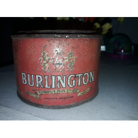 Lata De Tabaco Burlington