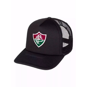 a1ea130a76 Boné Aba Reta Do Fluminense - Bonés para Masculino no Mercado Livre ...