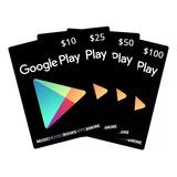 Vale Presente Google Play Gift Card R$ 30 Reais Br
