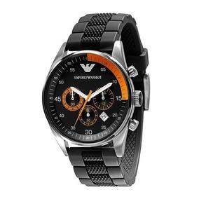 Relógio Masc. Emporio Armani Cronógrafo Original C nf Ar5878. R  1.179 90.  12x R  98 sem juros 8e50b55be9