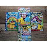 Lote C/04 Revistas Sobre Pokémon/ 03 Oficiais E 01 Comix
