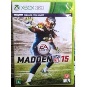 Madden Nfl 15 - Jogo Para Xbox 360 - Original Seminovo