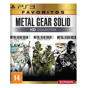 Jogo Metal Gear Solid Hd Collection - Ps3 [ Mídia Física ]
