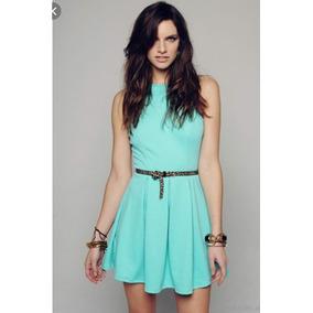 Vestidos cortos color verdes