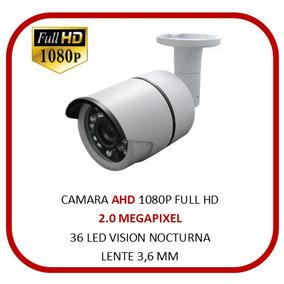 Cctv Camara Bullet 24 Leds Ahd Plex - Sistemas de Monitoreo Cámaras