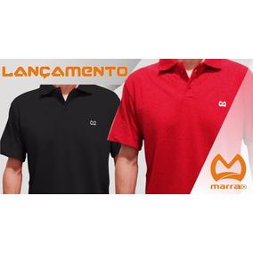 Camisas Polo Masculina Marra10 - Tecido Piquet Kit 2 Peças 94f6b863f127a
