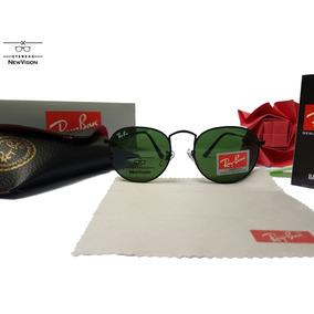 Óculos Ray Ban Round Rb3447l Preto Marrom Verd Envio Ràpido cd266ea9e3