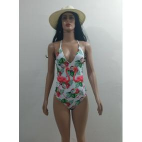 Biquíni Cintura Alta Com Bojo + Bolsa + Canga + Saída Praia