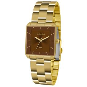 55b9b90c95f Relogio Lince Quadrado - Relógio Lince no Mercado Livre Brasil