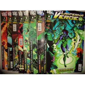 Lote Lanterna Verde 1 A 14 Completa Panini 2008 Frete Gratis