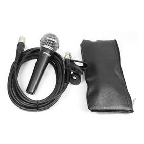 Microfone C/ Cachimbo Cabo Bag Km92 Km 92 Km-92 Studiomaster
