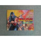 Manual Original Ninja Gaiden Nes