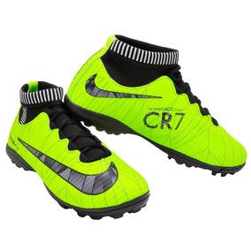 fcd2e72169e25 Chuteira Nike Mercurial Verde Limão - Chuteiras Nike para Infantis ...