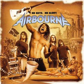 Airbourne - No Guts, No Glory - Cd Original Nuevo Sellado