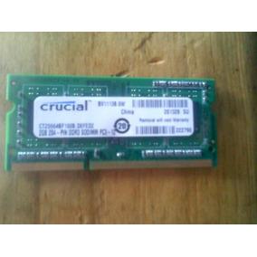 Memoria Ran De 2gb Ddr3 Para Laptop