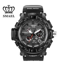 Reloj Tipo Militar Color Negro Envío Gratis