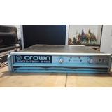 Amplificador Crown Macrotech 2402
