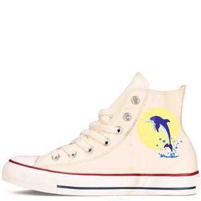 Zapatos Personalizados Delfin Hermosos Envio Gratis 009