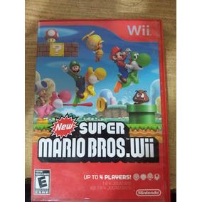 New Super Mario Bros Wii Usado Pero En Buen Estado Usado En Mercado