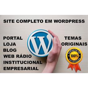 Criação De Sites Em Wordpress - Funcional, Prático E Seguro