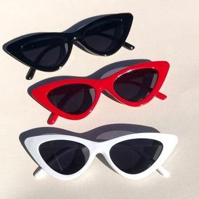 00ee230e2281f Oculos Sol Gatinho Vermelho Retro - Óculos no Mercado Livre Brasil